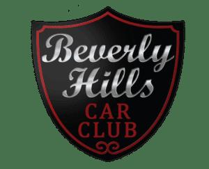 classic car dealership: Beverly Hills Car Club logo