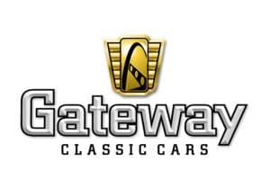 A classic car dealership: Gateway Classic Cars Logo